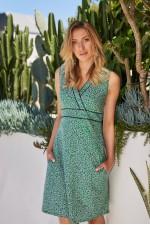 New Jaya Cotton Dress - Lisbon Print