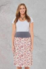 New Dita Cotton Reversible Skirt –Berry & SummerPrints