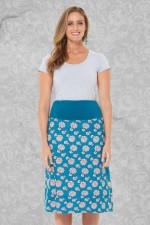 New Dita Cotton Reversible Skirt –Naples & YokoPrints