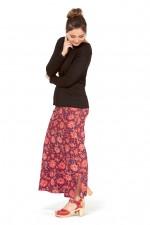 Sasha Maxi Skirt - Batik Print