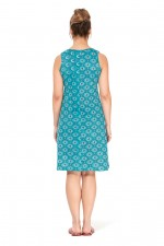 Tizzy Dress Tunic - Stamp Print