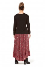 Gigi Frill Skirt - Mandala Print