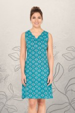 Tizzy Dress Tunic - Stamp Print