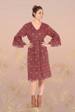 Petra Dress – Mandala Print