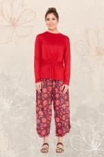 Henley Pant - Batik print