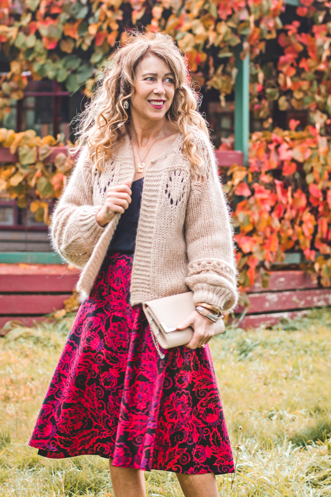 Beth Cotton Wrap Skirt – Remo Print