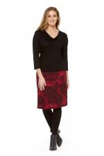 Maggie Stretch Cotton Skirt - Moorish Print