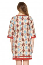 New Connie L/S Dress - Halo Print