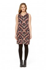 Tizzy Dress Tunic - Fuji Print