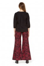 Sarita Cotton Pants - Remo Print