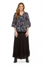 Gigi Frill Skirt - Black