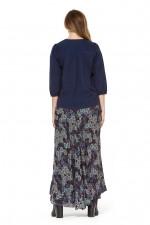 Gigi Frill Skirt - Twilight Print