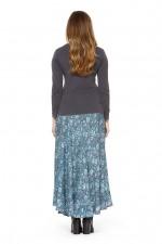 Gigi Frill Skirt - Lark Print
