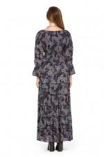 Farrah Dress - Twilight Print