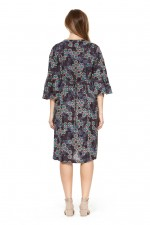 New Petra L/S  Dress – Twilight Print