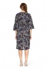 New Petra L/S  Dress – Twilight Print