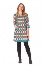 New Connie L/S Dress - Biba Print