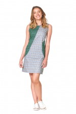 Marine Cotton Tunic - Forest withMixed Print