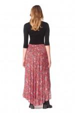 Gigi Frill Skirt -Sherbet Print