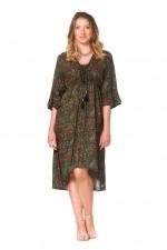 New Nania Rayon Dress - Twiggy Print