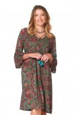 New Petra L/S Dress – Swirl Print