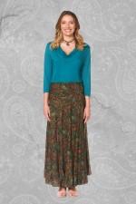 Gigi Frill Skirt -Twiggy Print
