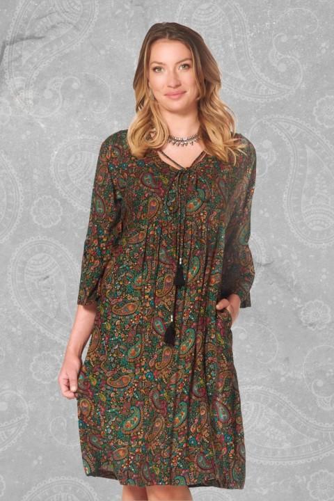 New Petra L/S Dress – Twiggy Print